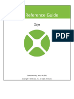 Xojo Reference Guide