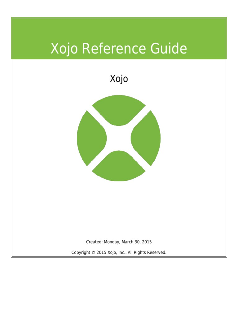 Xojo Reference Guide | Ios | Tab (Gui)
