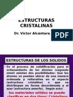 Estructura Cristalina (v. Alcántara)