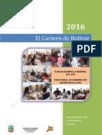 Plan de Desarrollo Municipal 2016 - 2019