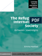 Haddad -The Refugee in International Society