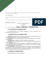 Programa Tecnica de Esprecion y Lengua Espa;Ola