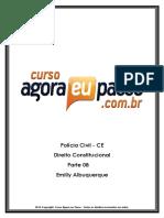 PDF AEP PCCE DireitoConstitucional Parte08 EmillyAlbuquerque