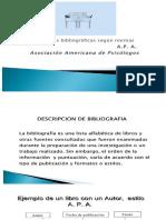 Bibliografía Estilo Apa
