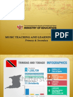 General Music Education Curriculum of Trinidad and Tobago