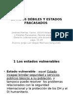 DER.INTER.PÚB -ESTADOS DÉBILES Y ESTADOS FRACASADOS