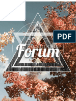 The Hillsdale Forum October 2015