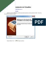 Instalación de VirtualBox
