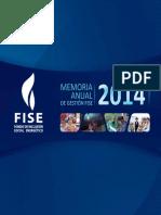 Fise Memoria Anual 2014