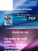 Auditoria Interna 2012
