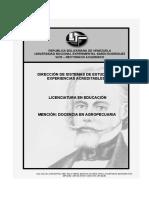 Pensum doc. Agropec..doc