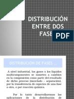 Distribución Entre Dos Fases