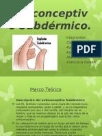 Anticonceptivo Subdérmico