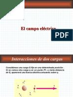 Fisica 2  , Campo electrico