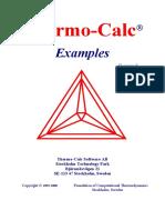 Tcc Examples