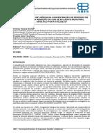 II-115 – Estudo Da Influência Da Concentração de Peróxido de Hidrogênio Na Remoção de Cor de Efluente Industrial Sintético Por Fotólise Uv
