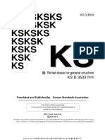 2- KSD3503-Rolled Steels for General Structure