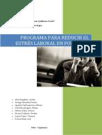 Programa Para Reducir El Estrés Laboral en FONCODES (1)