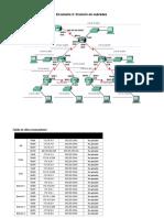 Práctica de Laboratorio 3.5.3 Situación 2 de División en Subredes