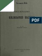 Diccionario Bibliographico Brazileiro v4