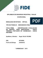 MONOGRAFIA FINAL IDENTIFICACION Y EVALUACION DE RIESGOS NTPY - FIDE2.docx