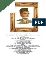 Biodata Perdana Menteri Malaysia Pertama 1