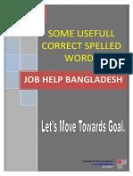 Correct Spelling 3