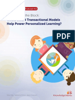 Blockchain Personalized Learning