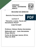 Los Modelos de Derecho Penal de Acuerdo Al Maestro Luigi Ferrajoli