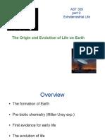 Origin of life