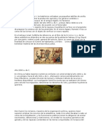 historia cronologio de la estadistica