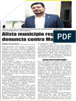 29-06-16 Alista municipio regio otra denuncia contra Margarita