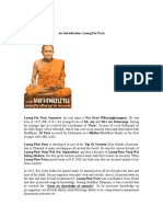 An Introduction Luang Por Parn