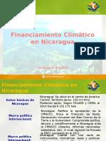 Financiamiento Climático en Nicaragua 21062016
