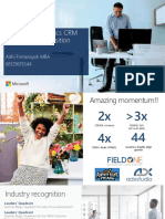 Microsoft Dynamics CRM 2016 Value Proposition