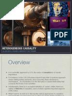 heterogeneous causality