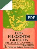 Guthrie William K. C. - Los Filosofos Griegos . de Tales a Aristoteles-libre (1)