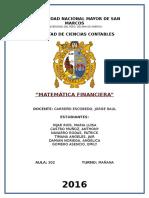 Trabajo Matematica Financiera 2