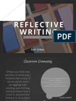 Reflective Writing in the Art Room
