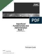 InputAccel Fundamentals & Administration Book 1 - IAFA-60-0209-01