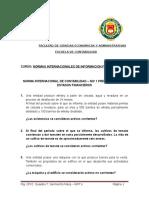 MODULO Nº 01.0 - NIC 01 -Casos Pràcticos -Preguntas