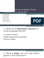 5- Devising Language Games
