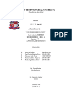 Design Engineering-2B Report, Automobile Engineering@KJIT,Savli.