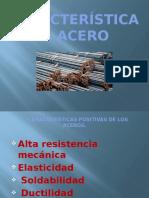 Características Del Acero