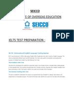 Seicco Ielts Test Preparation
