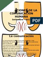 Alteraciones de La Comunicación Humana