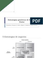 Estrategias Genéricas de Michael Porter