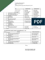 Materi Kalender Akademik STAIN KEDIRI 2016-2017
