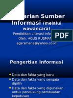 Pencarian Sumber Informasi