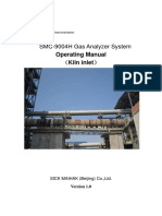 1. 7132249A.01 Analyzer System Manual V1.0 (Kiln Inlet)